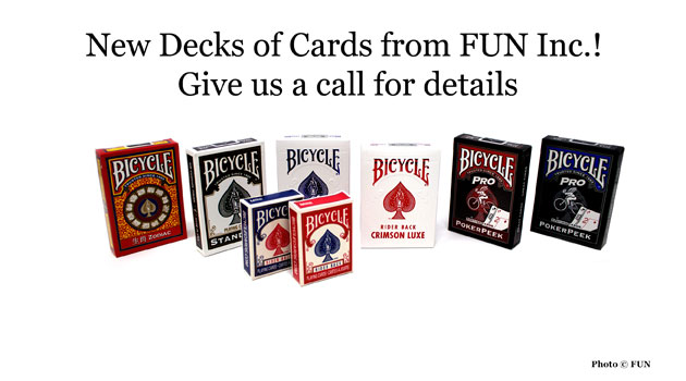 New Decks of Cards from FUN