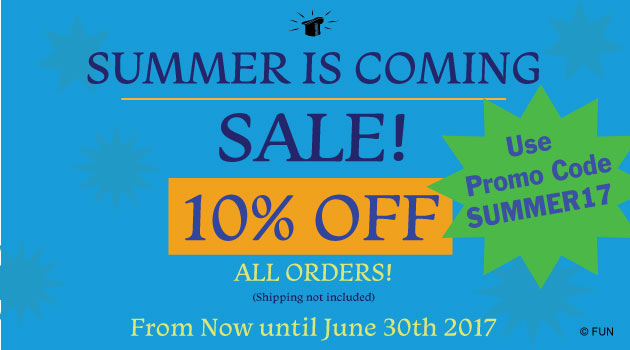 Summer Sale FUN Incorporated 10 Off