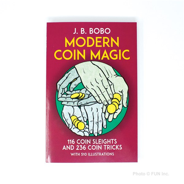 Bobo Modern Coin Magic book