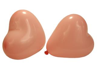 "Balloon - Heart - 6"" Pink - Regular"