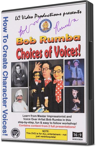 Bob Rumba Choices of Voices