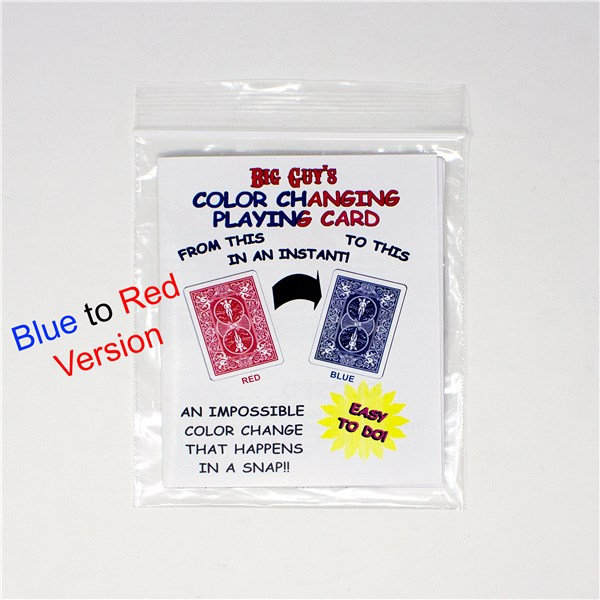 color changing playing card magic trick fun inc