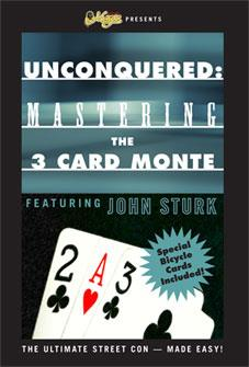 Unconquered: Mastering the 3 Card Monte DVD