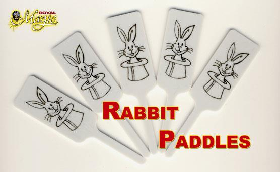 Rabbit Paddle Bulk (50 per bag)