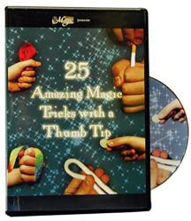 25 Amazing Tricks with a Thumb Tip DVD