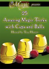 Amazing Magic with Cups & Balls DVD