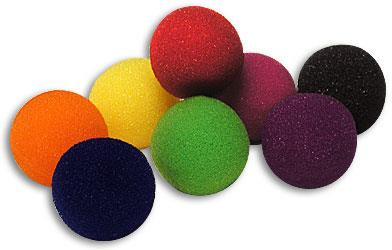 "Sponge Ball-1 1/2"" Bag of 50 S.S.-Purple"