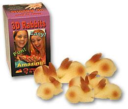 Multiplying Rabbits 3D - Magic by Gosh