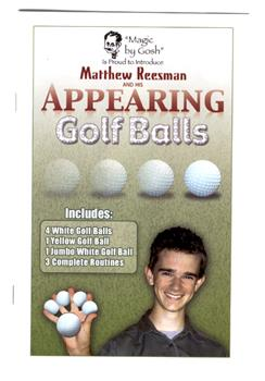 Appearing Golf Balls - Matthew Reesman