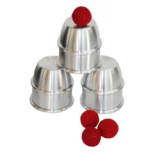 cups and balls aluminum