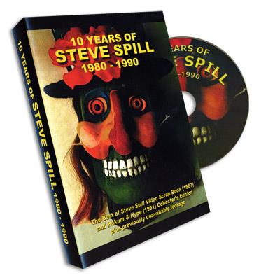 10 Years of Steve Spill DVD