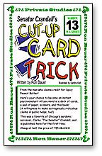 Cut-Up Card Trick - Senator Crandall