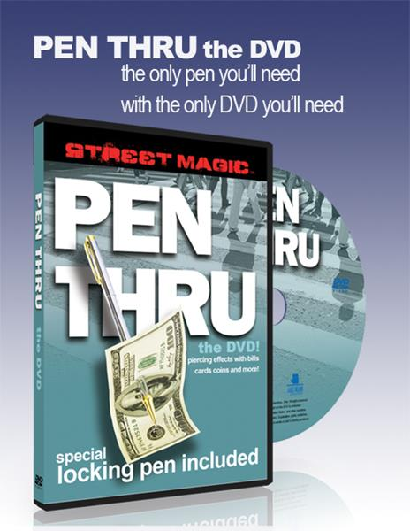 Pen Thru DVD - with gimmick!
