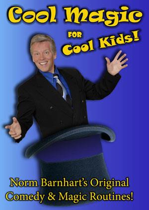 Cool Magic for Cool Kids DVD - Norm Barnhart