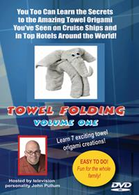 Towel Folding DVD Volume 1 - John Pullum