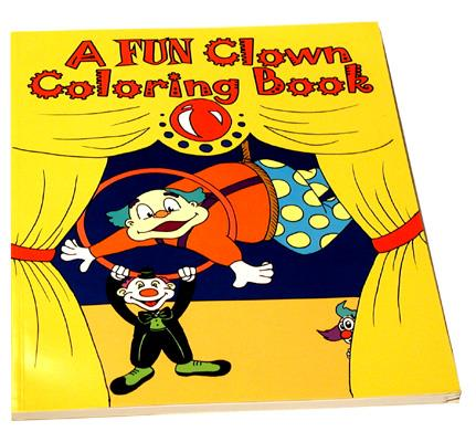 Clown Coloring Book - 3 Way