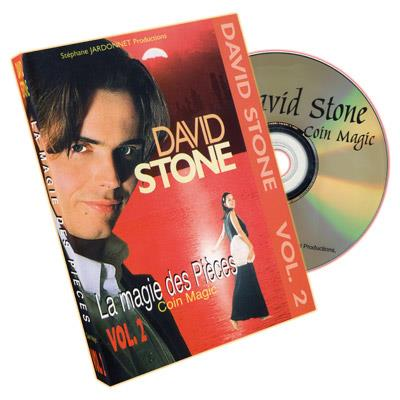 Basic Coin Magic Vol. 2 DVD by David Stone
