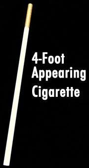Appearing 4' Cigarette