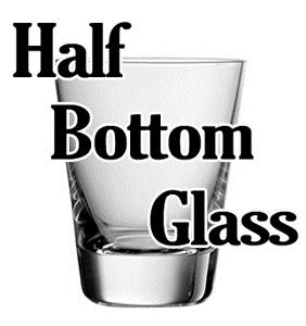 Half Bottom Glass