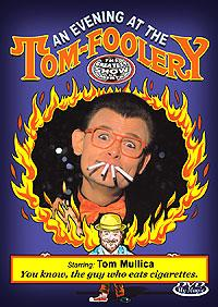 An Evening at the Tom-Foolery DVD