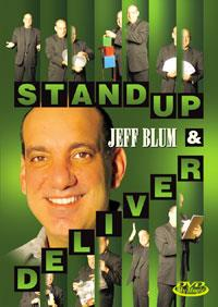 Stand Up & Deliver DVD - Jeff Blum