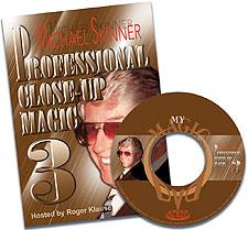 Pro Close-Up Magic DVD #3 - Skinner