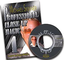 Pro Close-Up Magic DVD #4 - Skinner