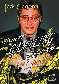 Expert Gambling Routines DVD - Jack Carpenter