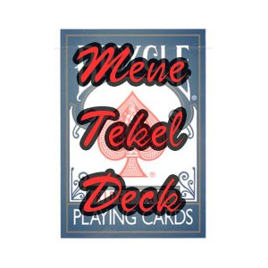 Mene Tekel Deck - Bicycle