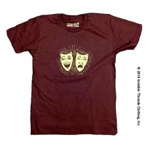 Theater Faces Tee Invisible Threads