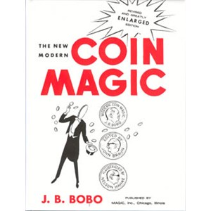 Modern Coin Magic -HARDBOUND- Bobo - Magic Trick Book