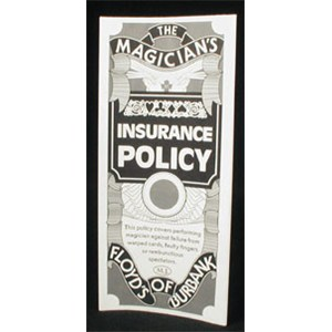 Insurance Policy - Single