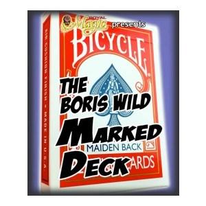 Jeu marqu� Boris Wild Mainden back