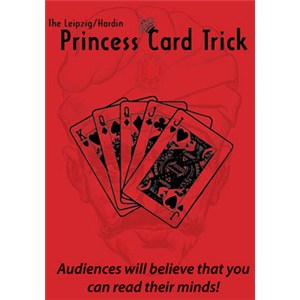 Princess Card Trick - Jumbo Bicycle
