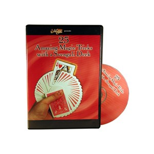 25 Amazing Magic Trk w/Svengali Deck DVD