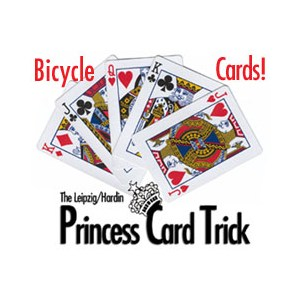 Princess Card Trick - Bicycle