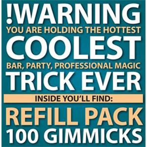 !Warning Refill Pack - Close Up / Fire / Street Magic Trick