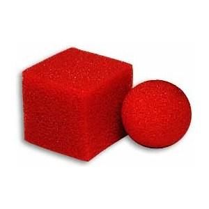 Ball Square Mystery Super Soft - Close Up / Street  / Sponge Magic Trick
