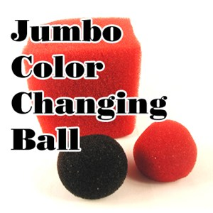 Giant Color Changing Ball - Sponge Close Up Magic
