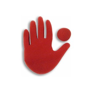 Big Red Hand - Magic by Gosh - Sponge Magic Trick