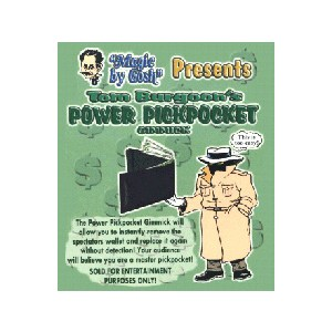 Power Pickpocket Gimmick - Tom Burgoon