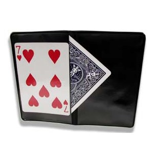 Card Wallet - 2 Flap - Magician Accessory Trick