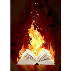 fire--hot--book