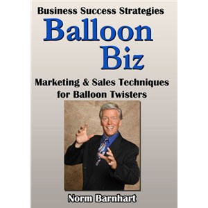 Balloon Biz DVD by Norm Barnhart