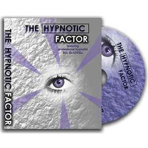 Hypnotic Factor, The - Stage / Close Up /  Cards / Mental / DVD Magic Trick