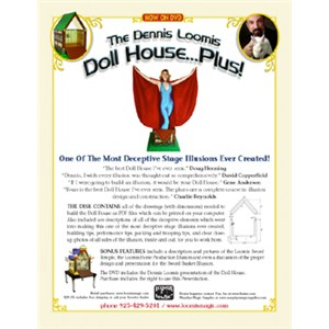 Dennis Loomis Doll House...Plus! - Magic Trick DVD