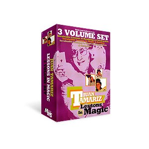 Juan Tamariz Lessons in Magic DVD - 3 pc Set