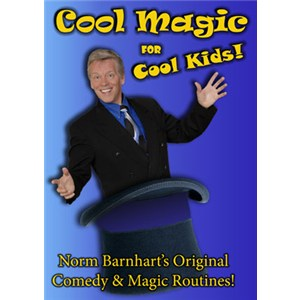 Cool Magic for Cool Kids DVD - Norm Barnhart - Instructional Magic Trick DVD