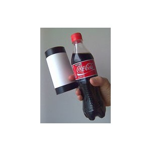Vanishing Coke Bottle - NEW!