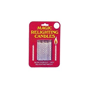 Relighting Candles - Carded